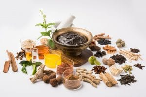 a variety of natural spices and herbs