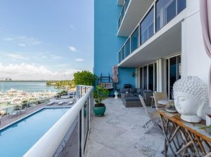 patio of high rise building in bayshore